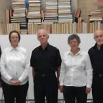 Roy Chatfield, Cat Randle, Bryn Strudwick, Marion Chatfield, John Secluna